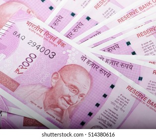 New Indian rupees 2000 currency