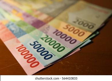 New Indonesian rupiah money