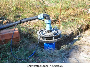 New Installed Water Borehole. New House Water Borehole Drilling for Water Supply. Bore water installation, bore pumps, bore water drilling.
