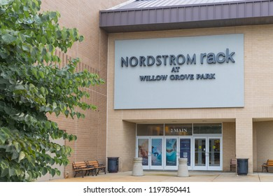 New Jersey NJ,October 7 2018:Nordstrom Rack in New Jersey.