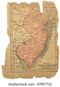 New Jersey, circa 1880. See the entire map collection: http://www.shutterstock.com/sets/22217-maps.html?rid=70583