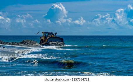 New Jersey Shore Beach Replenishment