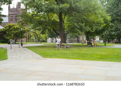 New Jersey, USA, August 25, 2018:Princeton University is a Private Ivy League University in New Jersey, USA.