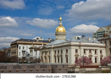 New Jersey's State House capitol in Trenton.