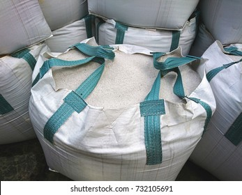 New Jumbo bags of white washed sand are used for sandpits and under paving.
