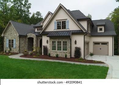 New large suburban house