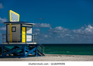 New Lifeguard Hut in Hollywood Beach FL.