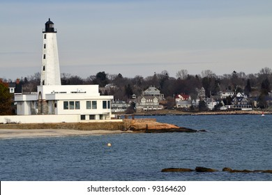 New London Harbor Lighthouse, New London, Connecticut.
