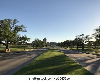 New Main Drive, Texas A&M University