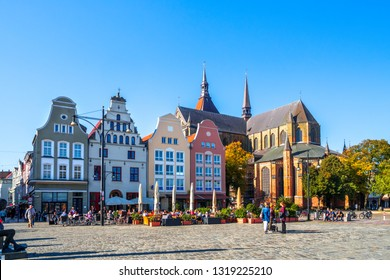 New Market of Rostock, Germany