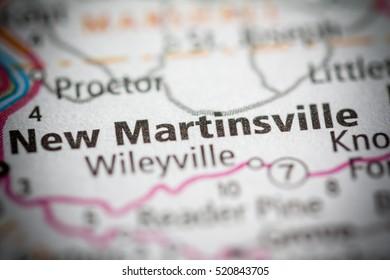 New Martinsville. West Virginia. USA