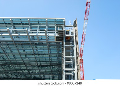A new mega construction in Rome in the EUR district 015
