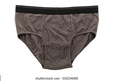 New men underwear or short pant and boxer for clothing isolated on white background