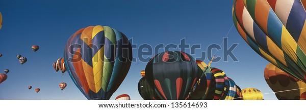 NEW MEXICO - CIRCA 2004: 25th Annual Albuquerque International Balloon Fiesta, in New Mexico on Circa 2004.