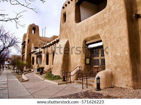 New Mexico Museum of Art, Santa Fe, New Mexico USA