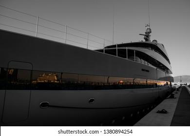 The new Mid-Harbour Marina, completed in 2016, has 500 metres of berthing facilities on the outside for super yachts with a minimum chartered depth of  6.0 metres, and deeper in most parts, within rel