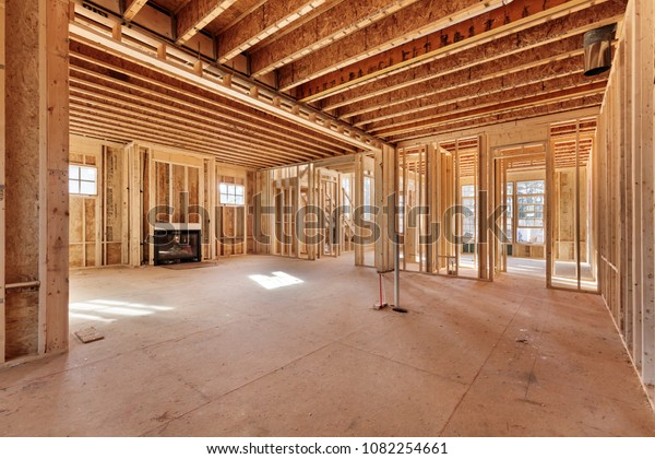 new model house under construction showing stock photo (edit now Starter Wiring Diagram Model A