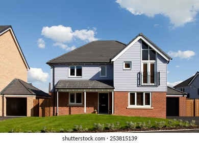 New and modern english detached house