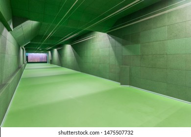 New modern shooting gallery. Indoor shooting range