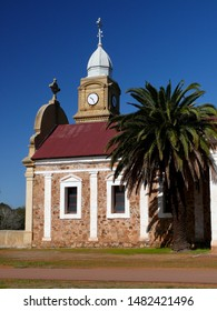 New Norcia, Western australia, Australia. Aug 2019. A view of the old church built by the Benedictine monks in the 1800s.