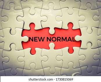 New normal lifestye concept. After Outbreak . After the Coronavirus or Covid-19 causing the way of life of humans to change to new normal