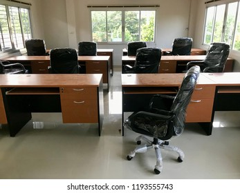 The new office equipments.