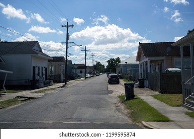 New Orleans buildings that were damaged in hurricane Katrina