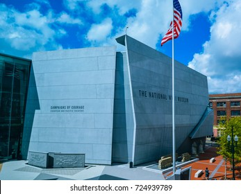 New Orleans, LA - Sep. 25, 2017: The National World War II Museum - a military history museum in New Orleans, LA. It is formerly called the D-Day Museum.