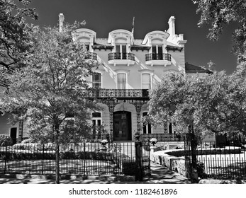 New Orleans, LA USA - May 8, 2018  -  Mansion in New Orleans LA 2 off of St. Charles Ave