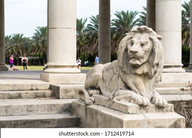 New Orleans, LA/USA - 10/21/17: Peristyle at City Park, New Orleans