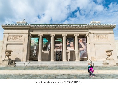 New Orleans, LA/USA - 11/04/2018: New Orleans Museum of Art in City Park