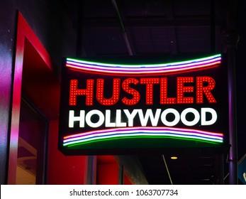 Hustler video store