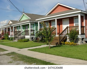 New Orleans, Louisiana - August 12, 2011: Musician's Village built for displaced musicians following Hurricane Katrina