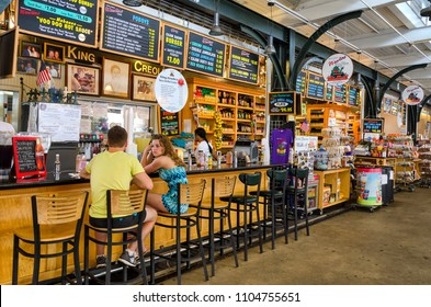 NEW ORLEANS, LOUISIANA - JULY 11:  Scene at the French Market in New Orleans, Louisiana on July 11, 2012.