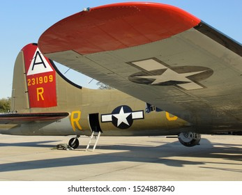 """New Orleans - March 25, 2010: B-17 Flying Fortress """"Nine- 0 -Nine"""" prior to  its deadly crash"""