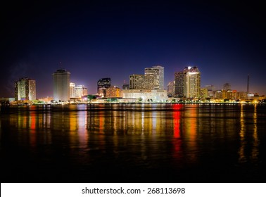New Orleans Skyline at Night