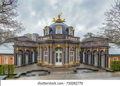 New Palace in Hermitage garden, Bayreuth, Germany