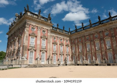 The New Palace (Neues Palais) in the Sanssouci park, Potsdam, Germany