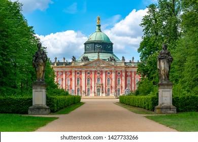 New Palace (Neues Palais) in Sanssouci park, Potsdam, Germany