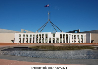 New Parliament building in Canberra, Australia