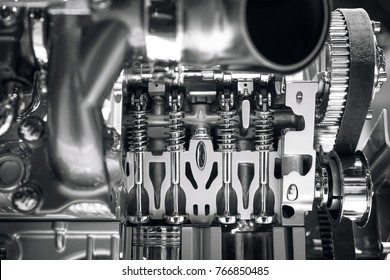 new part of car's engine