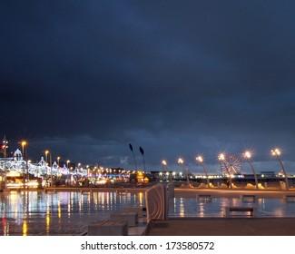 New promenade at Blackpool