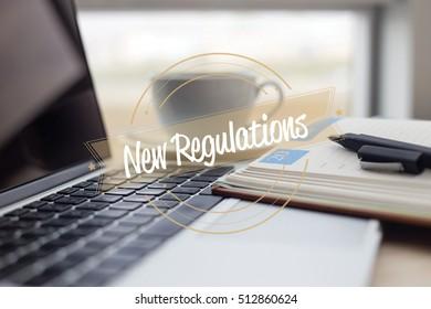 NEW REGULATIONS CONCEPT