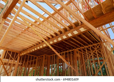 New residential construction house framing residential construction house framing