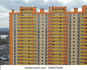 New residential high-rise and multi-apartment buildings