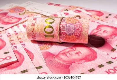 New RMB one hundred yuan