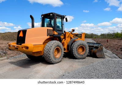 New Road Home House Construction Builders Vehicles Heavy Equipment Machinery