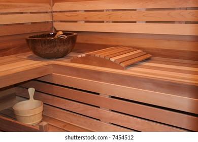 A new sauna