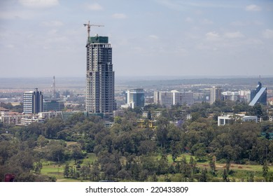 new skyscraper being built in Nairobi, Kenya