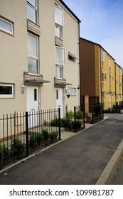 New social housing in Bristol, UK